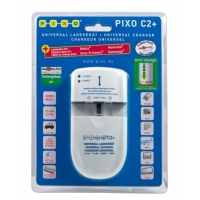 Pixo Universele Acculader Digicharger C2+
